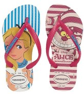 Havaianas Toddler Girl's Slim Alice Flip Flop