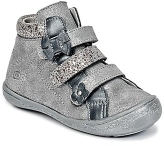 Citrouille et Compagnie FALIE girls's Mid Boots in Silver
