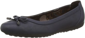 Geox Women's D Piuma BAL H Closed Toe Ballet Flats
