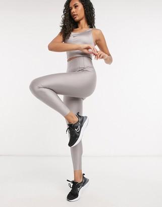 Nike Training city ready leggings in gray