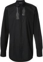 Neil Barrett bow tie print shirt - men - Cotton - 42