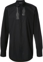 Neil Barrett bow tie print shirt