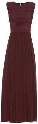 Max Mara Libbra crepe gown