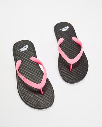 Nike Women's Black All thongs - On Deck - Women's - Size 6 at The Iconic