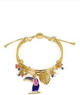 Juicy Couture Toucan Cluster Bangle Bracelet