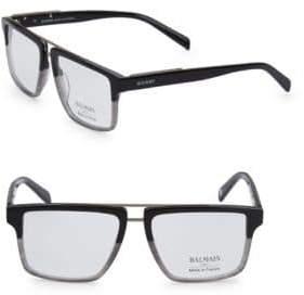 Balmain 59MM Square Two-Tone Eyeglasses