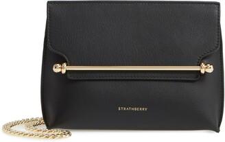 Strathberry Mini Stylist Calfskin Leather Convertible Clutch