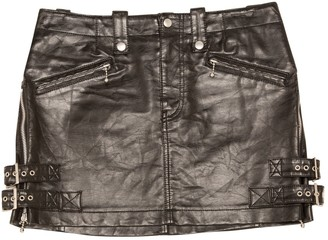 Junya Watanabe Black Leather Skirts