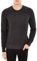 Sandro Electra Honeycomb Heathered Sweater