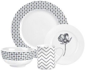 Spode Home Stella 16Pc Dinnerware Set
