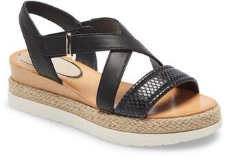 Kenneth Cole New York Jules Espadrille Platform Sandal