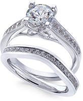 X3 Certified Diamond Bridal Set (1-3/4 ct. t.w.) in 18k White Gold