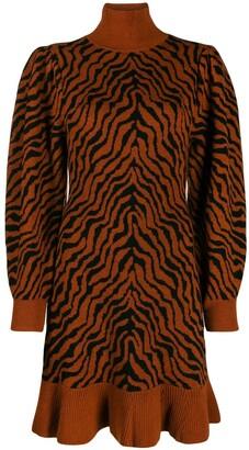 Ulla Johnson Animal Knit Dress