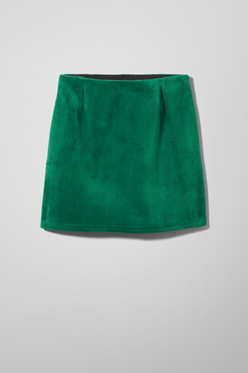 Weekday Kathy Skirt - Green
