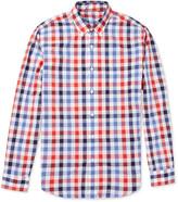 J.Crew Check Lightweight Cotton Shirt
