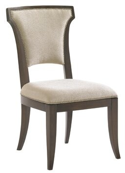 Lexington Tower Place Upholstered Arm Chair in Rose-Gold