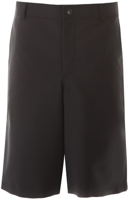 Burberry Cut-Out Tailored Shorts