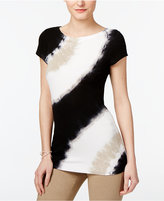 INC International Concepts Tie-Dyed T-Shirt, Created for Macy's