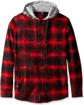 Neff Men's Thomas Long Sleeve Flannel Button up