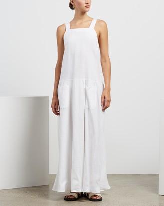 MATIN Cross Back Pocket Dress