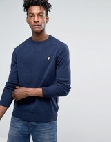 Lyle & Scott Crew Neck Links Detail Jumper