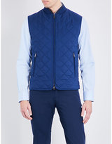 Brioni Quilted Silk Gilet