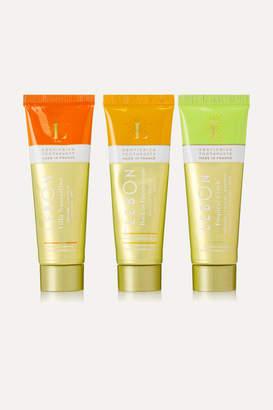 Lebon Orange Gift Set: Villa Noacarlina, Back To Pampelonne, And Tropical Crush Toothpaste, 3 X 25ml