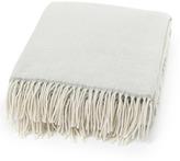 Lexington Company Lexington Urban Wool Throw White/Grey 130x170cm