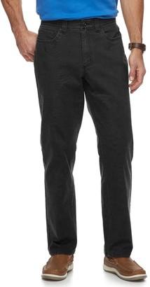 Croft & Barrow Men's Straight-Fit Utility 5-Pocket Canvas Work Pants