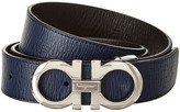 Salvatore Ferragamo Reversible & Adjustable Leather Belt