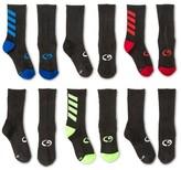 Champion Boys' 6-Pack Athletic Socks Gray