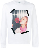 Kenzo photo print sweatshirt - men - Cotton - L