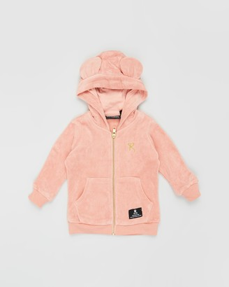 Rock Your Baby Terry Towelling Hooded Jacket - Babies