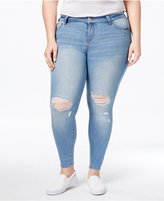 Celebrity Pink Body Sculpt by Trendy Plus Size The Shaper Skinny Jeans