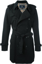 Aquascutum London double breasted trench coat