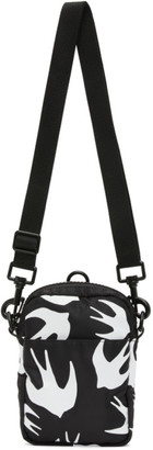 McQ Black Swallow Crossbody Bag