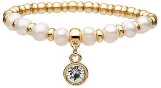 David Lawrence Fresh Water Pearl Stretch Bracelet