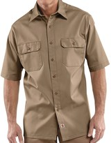 Carhartt Twill Work Shirt - Short Sleeve (For Men)