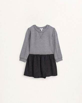 Splendid Little Girl Lurex Striped Jersey Dress