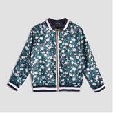 Joe Fresh Baby Girls' Floral Bomber Jacket