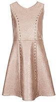 Marciano Big Girls 7-16 V-Neck Studded Dress