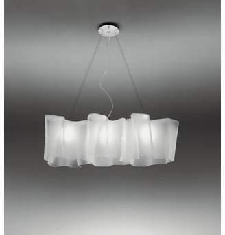 Artemide Triple Linear Logico Suspension 1-Light Novelty Pendant Size: Classic, Bulb Type: Incandescent 3x100W E26 120V