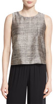 Eileen Fisher Streaked Hand-Painted Shell