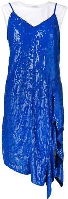 P.A.R.O.S.H. layered sequin dress