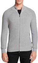 Michael Kors Mockneck Zip Cardigan Sweater