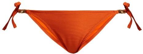 Heidi Klein Casablanca Tie Side Bikini Briefs - Womens - Orange
