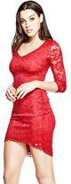 GUESS Women's Trixee Lace Dress