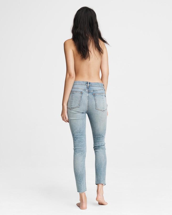 Thumbnail for your product : Rag & Bone Nina high-rise skinny - horizon