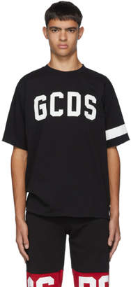 GCDS Black Glow Logo T-Shirt