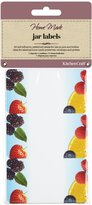 Kitchen Craft Home Made Self Adhesive Jam Jar Labels - Fruit, Pack of Thirty